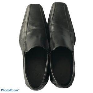 Aldo Men's Black Slip On Loafer Dress Shoes, 10